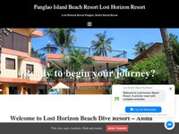 Lost Horizon beach resort