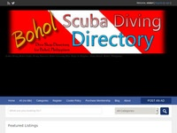 Scuba Diving Bohol Information