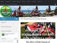 Hey Joe Bohol Motorcycle Rentals