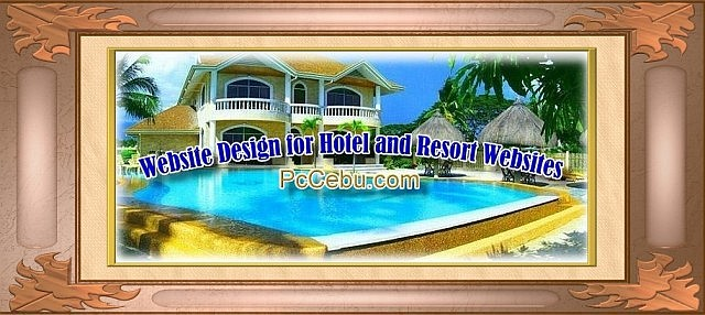 Website Design for Bohol Hotel and Resort Websites
