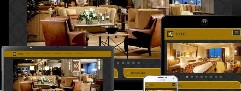 mobile friendly hotel web design services